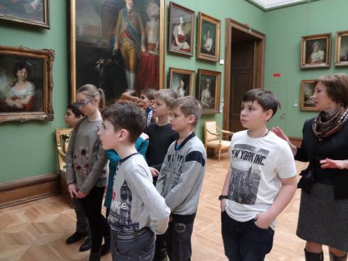 DSC01014 500x375 Экскурсия в Третьяковской галерее