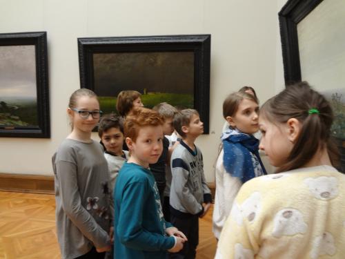 DSC01040 500x375 Экскурсия в Третьяковской галерее