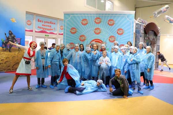 hUg8J5jwkD0 Поездка на фабрику мороженого Чистая линия