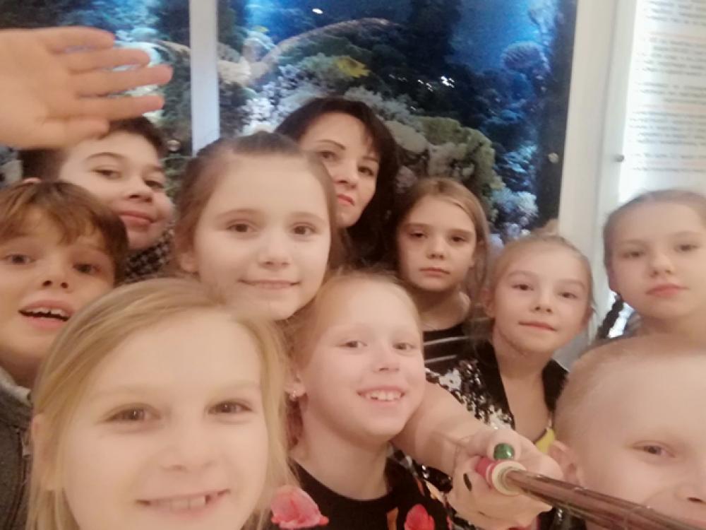 Посещение учащихся 2-3 классов Государственного Дарвиновского музея