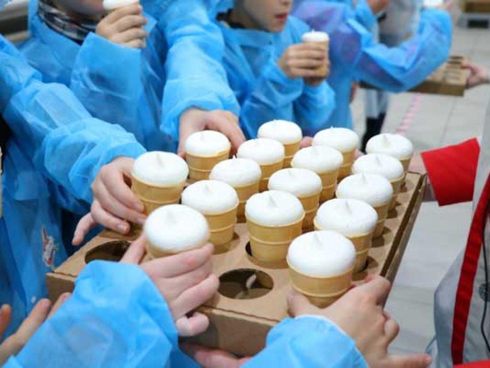 Поездка на фабрику мороженого «Чистая линия»