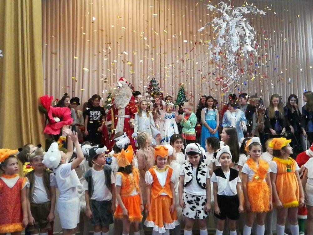 «Аленький цветочек» — новогодний спектакль театра Школы «Эрудит-2»